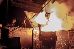 All Your Steel: Bucket list? (UJMi) Tags: iron lahore pakistan steel steelmill fire industrial night sony nex nex7 electric furnace smelter hardwork ironwork idustry