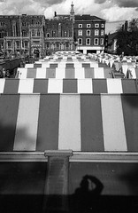 Norwich Market (munkt0n) Tags: market hp5 norwich stripes leicasummicron35mmf20asph ilford norfolk film