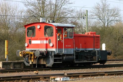 DB Cargo 335 136-8 Trier-Nord