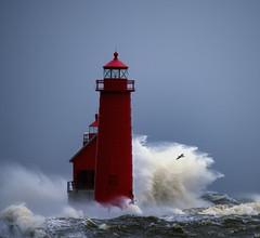 November Storm (paulh192) Tags: select michigan grandhaven winterstorm highwinds pier nikon sigma
