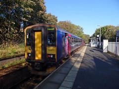 153377 & 153368 Penryn (Marky7890) Tags: gwr 153368 class153 supersprinter 2t71 penryn railway station cornwall train 153377 maritimeline