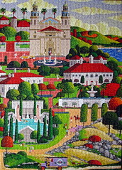 Weekend at the Castle (Marietta Wood Works) Tags: jigsawpuzzle