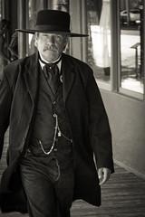 Encounter in Tombstone, AZ (Thomas Frejek) Tags: 2016 arizona sheriff tombstone usa huachucacity us