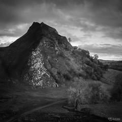Peak 2 (KRLandscapes) Tags: parkhouse hill chrome peak district derbyshire black white bw mono a7r mountain reef knoll earlsterndale