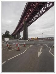 Ferrytoll Jamestown Viaduct (The Anti-Sharpness League) Tags: jadmor olympus queensferry crossing micro 43 fife forth road bridge