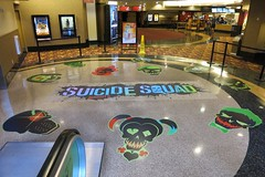Entertainment, Suicide Squad, Floor Graphics