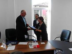 Besuch bei der stv. Bildungsministerin Albaniens