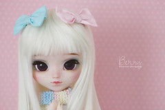 Berry (Mikiyochii) Tags: doll pullip pink freckles groove mio colorful