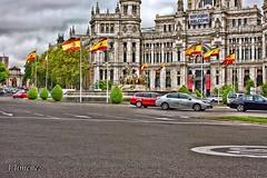 Cibeles (Nikonista Spain) Tags: madrid cibeles trafico urbana españa