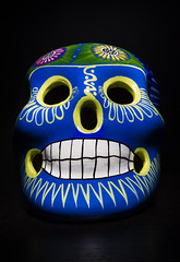 Calavera skull (Brother's Art) Tags: afterlife animaljawbone animalskull art bizarre blackbackground carnival celebration ceramics cheerful colors craft craftproduct dead deadperson death eccentric fear grimreaper happiness holiday homemade horror humanhead humanskull humanteeth humor luisboamorte mexicanculture mexicanethnicity mexicanskull mexico paint painting religion skullplates smileyface smiling souvenirs spirituality spooky terrified theamericas toothysmile vertical decoration halloween