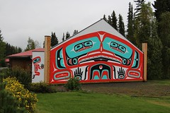 George Johnston Museum (demeeschter) Tags: canada yukon territory highway landscape scenery lake mountains road forest nature teslin town wildlife gallery museum george johnston