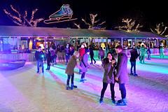 Ice Skating in Amsterdam (Roselinde Alexandra) Tags: amsterdam winter christmas kerst schaatsen ice skating night europe netherlands nederland city