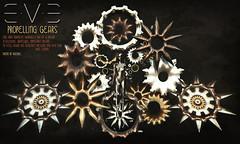 E.V.E Propelling Gears (eve.studio (Noke Yuitza)) Tags: tsa gears steampunk retrofuturistic dystopia artanddesign cgdesign eve