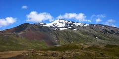 United Colours of Iceland (lunaryuna) Tags: iceland islenskisumar summer season snaefellsness peninsula volcano rocks coloursoficeland lavafields snow landscape panorama lunaryuna