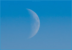 PC054808 e1 MF fr (David Geddes1) Tags: moon daytime scotland northstrome moonrise afternoon
