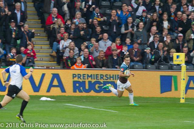Quins 36 Worcester 14 Aviva Premiership 29th Oct 2016