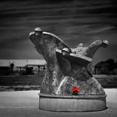 Canadian War Memorial; Courseulles-sur-Mer; Juno Beach (Repp1) Tags: normandy france calvados remebranceandrenewal juno beach war remembrance memorial poppies coquelicots guerre monumentcommémoratif souveniretrenouvellement normandie