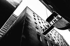 R0014795 (G. L. Brown) Tags: garage old parkingsign tallbuildings nashville streetphotography signage america