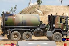 E9504 (milinme.myjpo) Tags: frencharmy scania p 340 sprinkler truck camion citerne arroseuse eurosatory