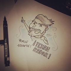 i Tchau radar ! Vamos adiante ! (dejanferreira) Tags: desenho dibujo draw drawing esteban art arte music enghaw 1berto