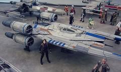 Yavin Rebel Base (decobray) Tags: star wars rogue one uwing xwing jyn