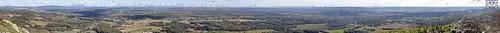 Pélissanne 2/2- Rocher de Caronte 290m panorama légendé 360°
