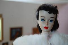 Problem Child (Emily1957) Tags: vintage vintageponytailbarbienumber3 barbie dolls doll toys toy brunette light naturallight nikond40 nikon kitlens