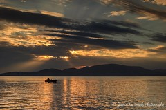 Autumn sunset (stavros karamanis) Tags: sea seaside seascape sunset skyline skylovers clouds landscape landscapephotography afternoon colours canonphotography canonusers canon t3i ef35350mmf3556lusm ngc volos greece leefilters