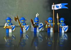 Ceremonial Guard (11inthewoods) Tags: lego castle brickwarriors custom minifig minifigures minifigs figbarf warrior knights knight dragons dragon kreo