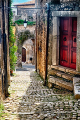 Narrow Cobblestone Street of Sermoneta, Italy (George Oze) Tags: alley ancient antique arches architecture buildingexteriors centralitaly cobblestone daytime detail europe europeanunion highangleview hilltown hilltoptown hilly historic italy landmark landscape lazio medieval mediterranean narrow narrowstreet nobody outdoors peaceful provinceoflatina quaint romantic scenic serene steep stonebuilding street town travel vertical village sermoneta it