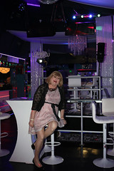 new123998-IMG_1069t (Misscherieamor) Tags: transvestite sissy crossdress tgirl transgender travestis travestie travesti tranny tv ts cd tg m2f tgurl gurl mature xdresser feminine femme transformation travestido travestit travestito traviesa transwoman elegantdress lacejacket sitting nightclub