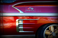 Candy Apple Red (Todd Evans) Tags: nikon d7100 sigma18250 chevrolet chevy impala red car auto automobile oldcarcity worldcars