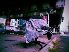 chair (quietseattle) Tags: homeless ballard ballardbridge seattle abandoned lost alone sad winter