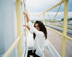 Taryn (darylovejr) Tags: pentax 67 6x7 film portrait 55mm f4 smc fujifilm fuji expired medium format 800z girl colors