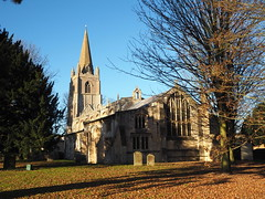 All Saints, Walsoken (badger_beard) Tags: all saints church walsoken cambridgeshire cambs west norfolk barnack stone tower churchyard