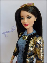 Barbie 4Style - Raquelle (Alex.S~) Tags: pink asian doll dolls label barbie style glam luxe collector raquelle playline 4style
