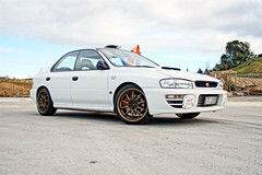 V3 STI RA (scooby-wrx) Tags: street race rally engineering subaru type rays ra impreza wrx sti volk gc8 ce28