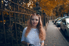 Portrait ? (Philipp Sarmiento) Tags: blue sky people sexy fall feet nature water colors girl analog canon hair nude landscapes photographer legs no blonde 5d 28 24mm fullframe regensburg philipp kamera sarmiento