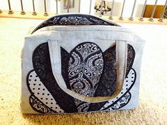 Amy Butler: Style Stitches  (Take Flight Bag) (indigoquilter) Tags: amybutler takeflight stylestitches takeflightbag indigoquilter theindigoquilter
