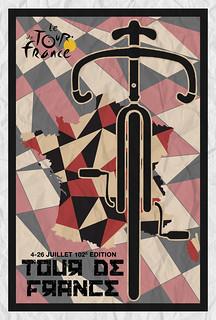 Tour De France 2015 Minimalist Poster 3
