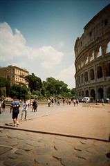 (Sonia Burghardt) Tags: trip people rome roma architecture analog 35mm iso200 kodak outdoor streetphotography places olympus colosseum streetphoto analogue analogphotography nofilter colosseo kodakgold archi roadtonowhere romanholiday 2015 travelphotography walkwithme analogcamera ancientcity filmclub tripdiary olympusamateur olympustrip600 visualnothings onlyanalog