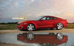2015 Ford Mustang GT S550   K3 Projekt Wheels AC5   MADE IN THE USA (K3 Projekt) Tags: usa cars ford wow mustang rims slammed merica madeintheusa s550 k3projektwheels slammedstangs