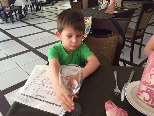 Naroch: Little T wants a drink :)