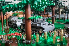 Panzer advance! (kr1minal) Tags: world 2 war lego wwii moc brickmania