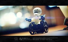 Nighmare before Halloween (Thai Toy Photographer) Tags: lighting light cute brick halloween hat toys happy model kubrick wheelchair ghost group indoor figure figurine scare figures thenightmarebeforechristmas toyphotography toysstory