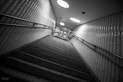 Dom Rmer (marcel_lier) Tags: bw white black architecture stairs canon subway am frankfurt main architektur sw stm 1018 treppen 70d