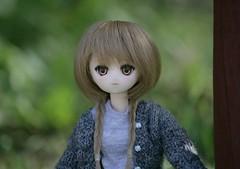 Adventure time! (Nina's Doll *MAKEUP COMMISSION CLOSED*) Tags: anime eyes doll head ooak makeup hybrid pure chara neemo mll bodu azone faceup pureneemo parabox