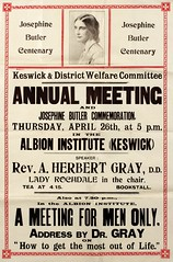 Poster : Keswick and District Welfare Committee Annual Meeting, 1928.