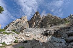 Widok na Pomedes z okolic schroniska Pomedes