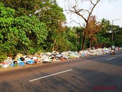 Cortalim Roadside Garbage (joegoauk73) Tags: garbage goa plastic rubbish joegoauk